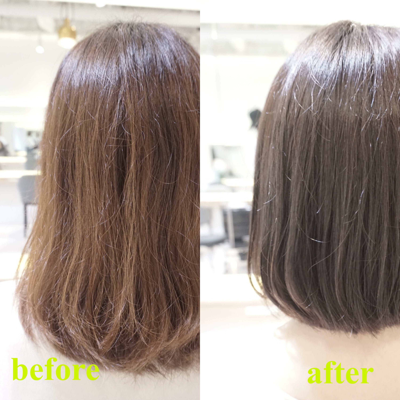 梳かれすぎた髪のなるべく長さを残しながらの対処、解決法 あまり切らずにスカスカの髪をまとめるには