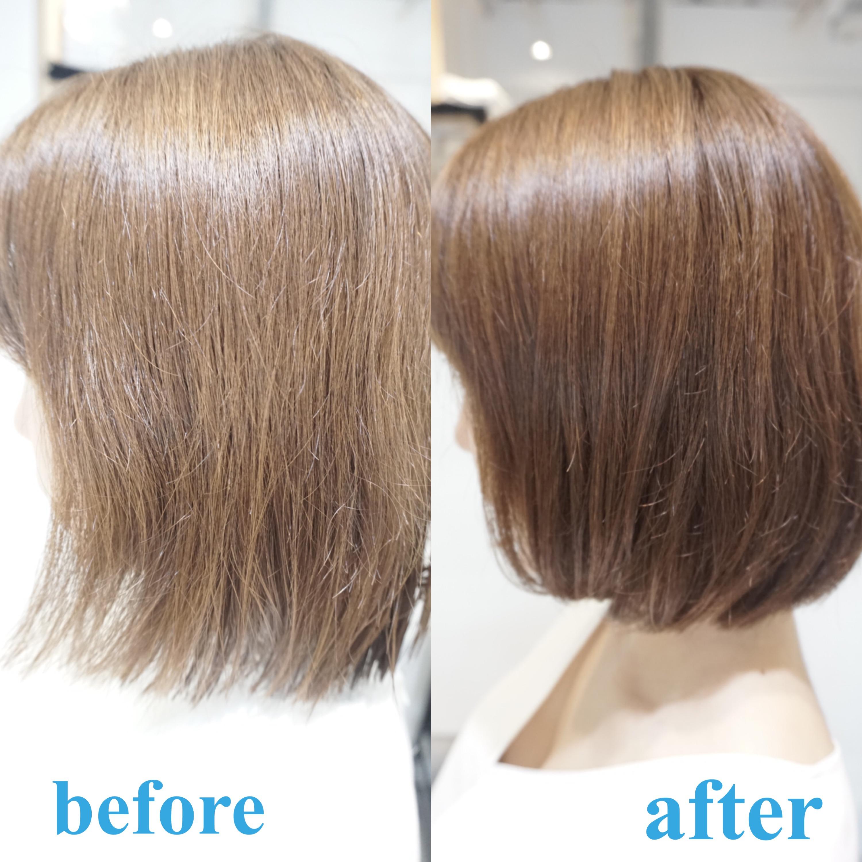 梳かれすぎた髪は切りたくないんで少し切ったらよくなりますか?対処と対策は状態により色々ありますよ。